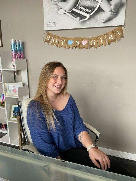 Samantha office receptionist Love My Baby Bump Clarksville TN
