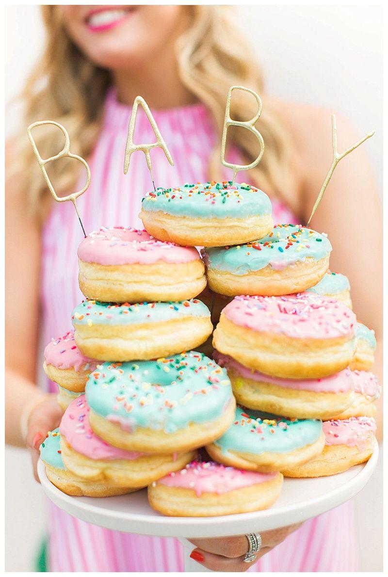 gender reveal donuts