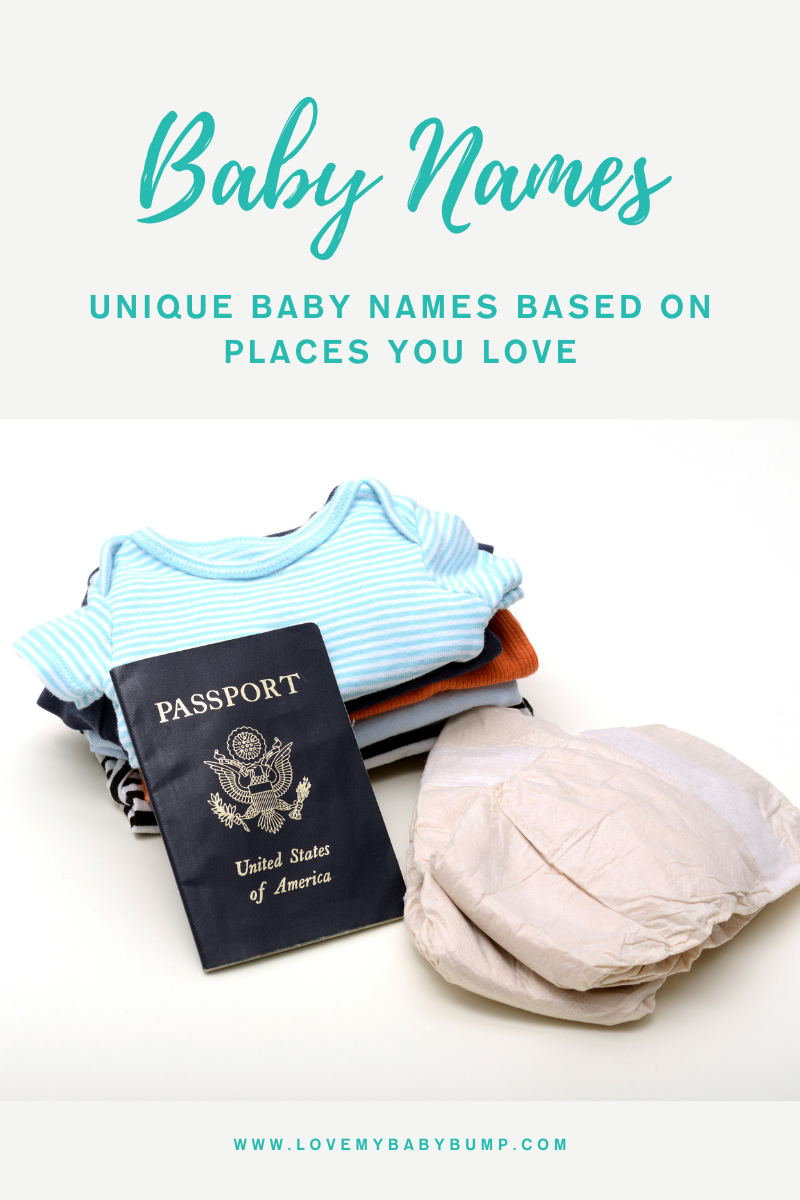 Unique Baby Names Based On Places You Love